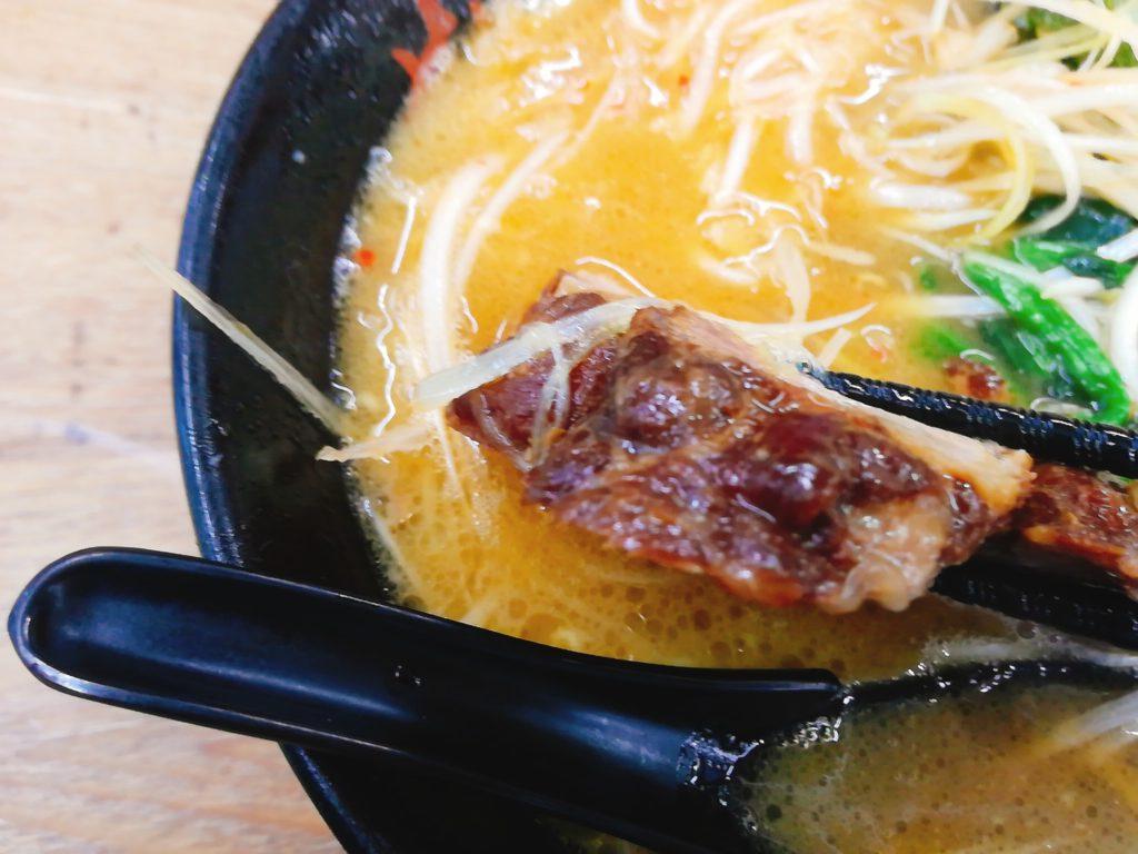 せい家本店(経堂)のネギラーメンのスープ
