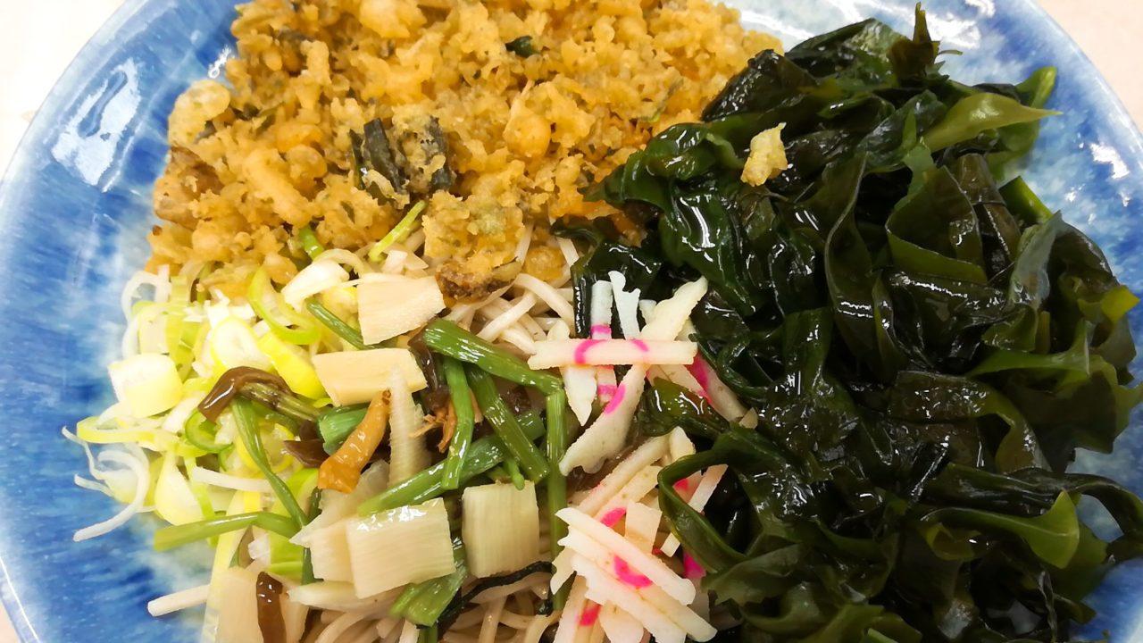 【八兆 千歳船橋】天ぷら持ち帰り可の立ち食い蕎麦