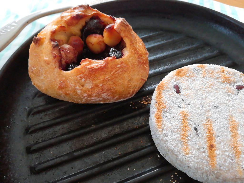 わたほろ製パン店のマカデミアナッツが入ったパン