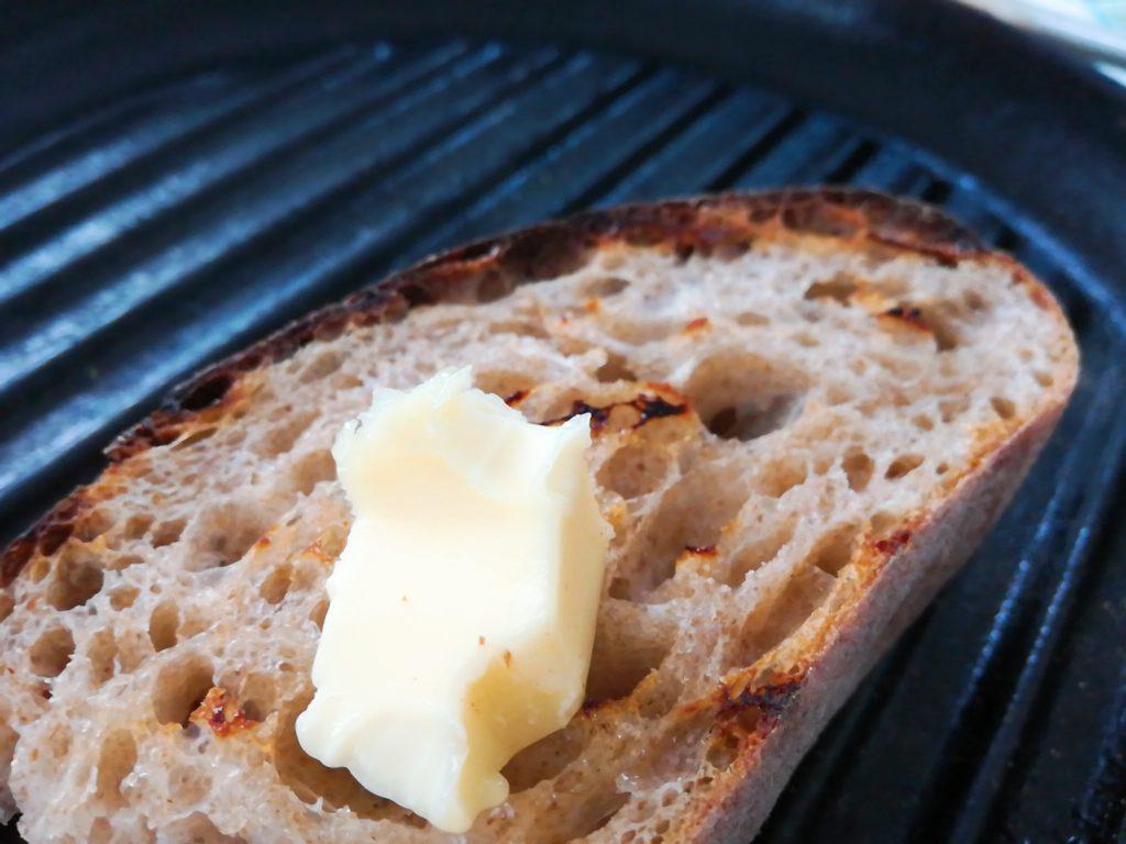 ラトリエドゥプレジール 祖師ヶ谷大蔵のパンとバター