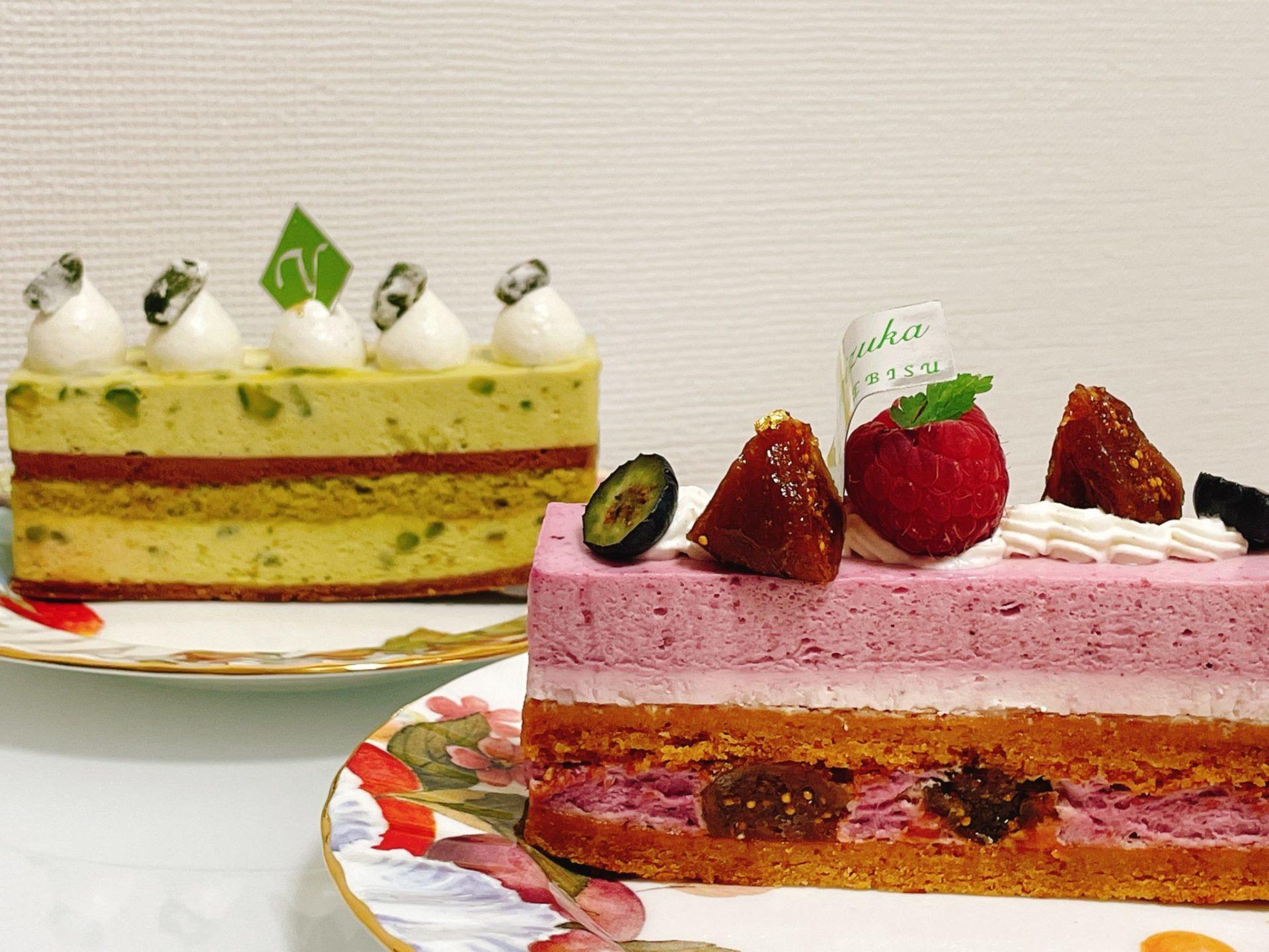 アトリエ・ヨロイヅカ(八幡山)のケーキ
