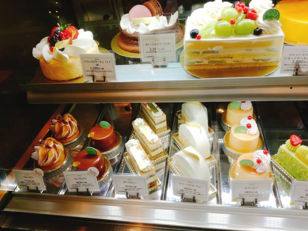 パティスリー ユウ ササゲ 千歳烏山のデコレーションケーキ