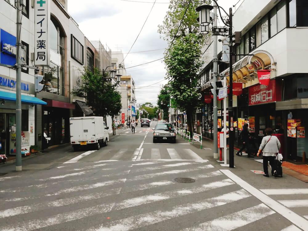 成城学園前駅から成城ベーカリーまでの超わかりやすい道案内