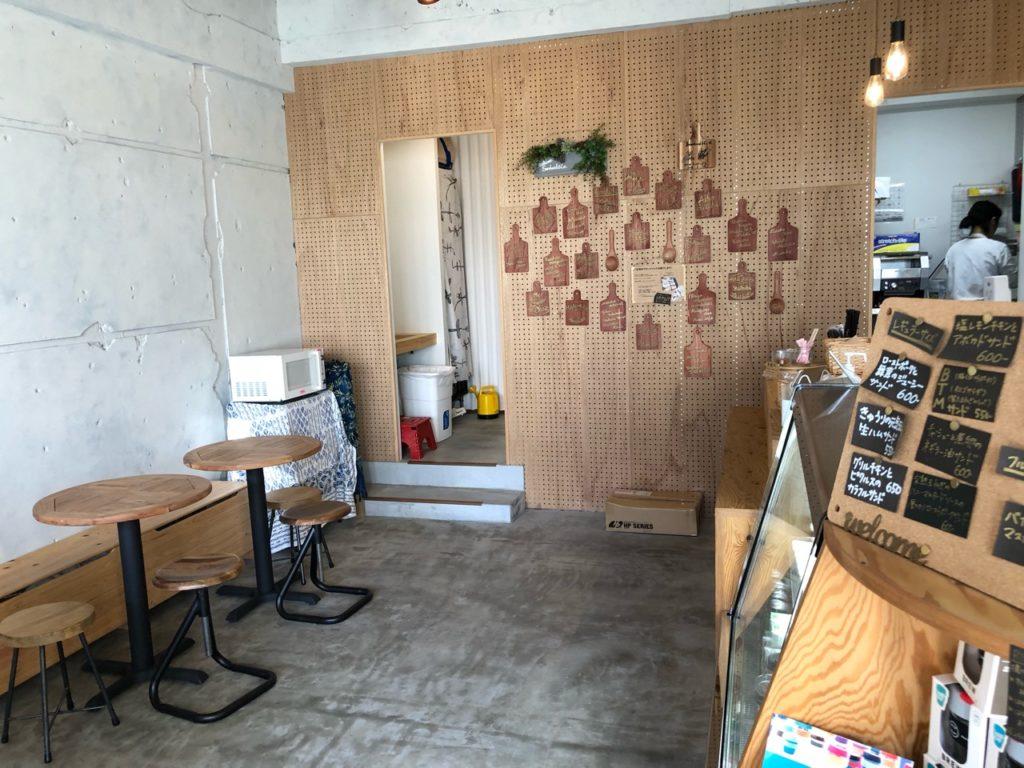 桜新町Sandwich&Co.(サンドイッチアンドコー)の店内の様子
