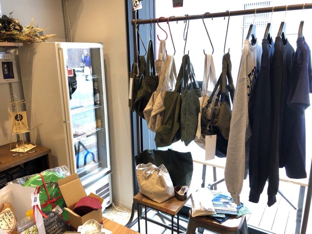 世田谷百貨店で売っているアパレル商品