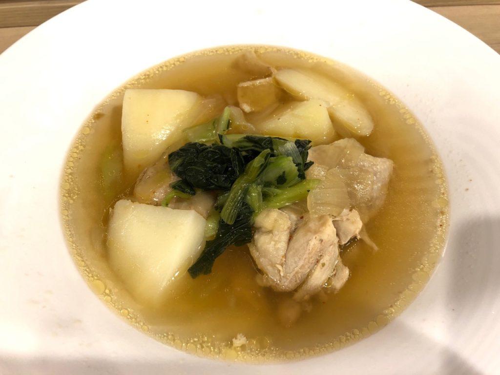 明治大学学食のスープカレー