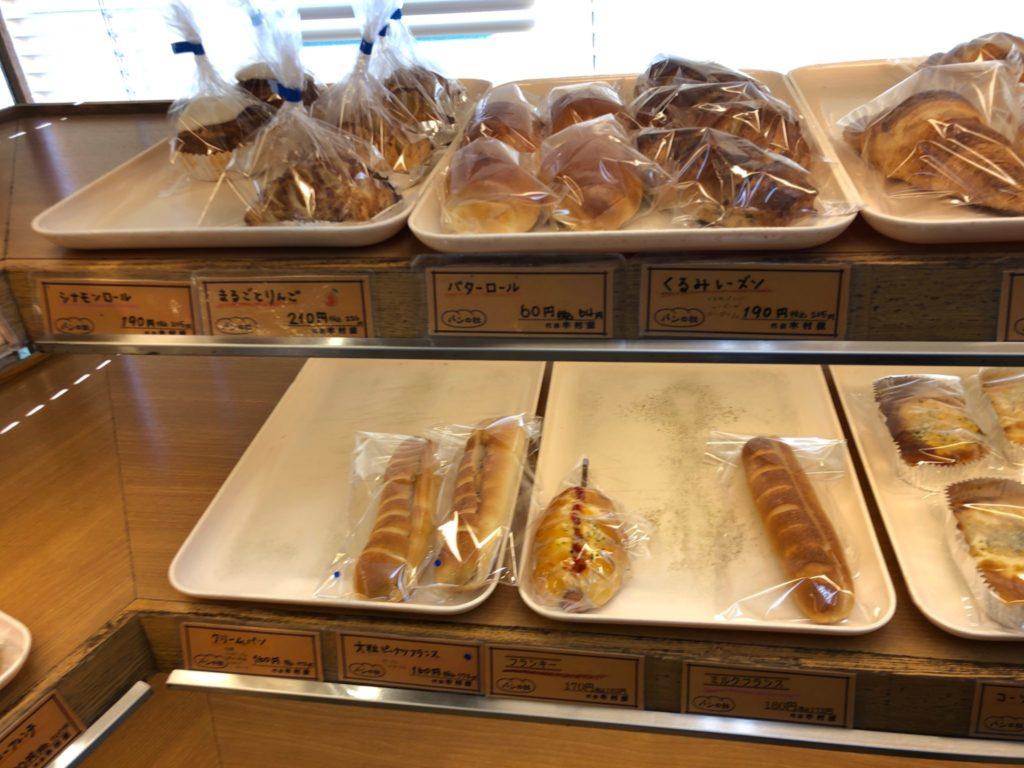 パンの杜代田木村屋のパンメニュー