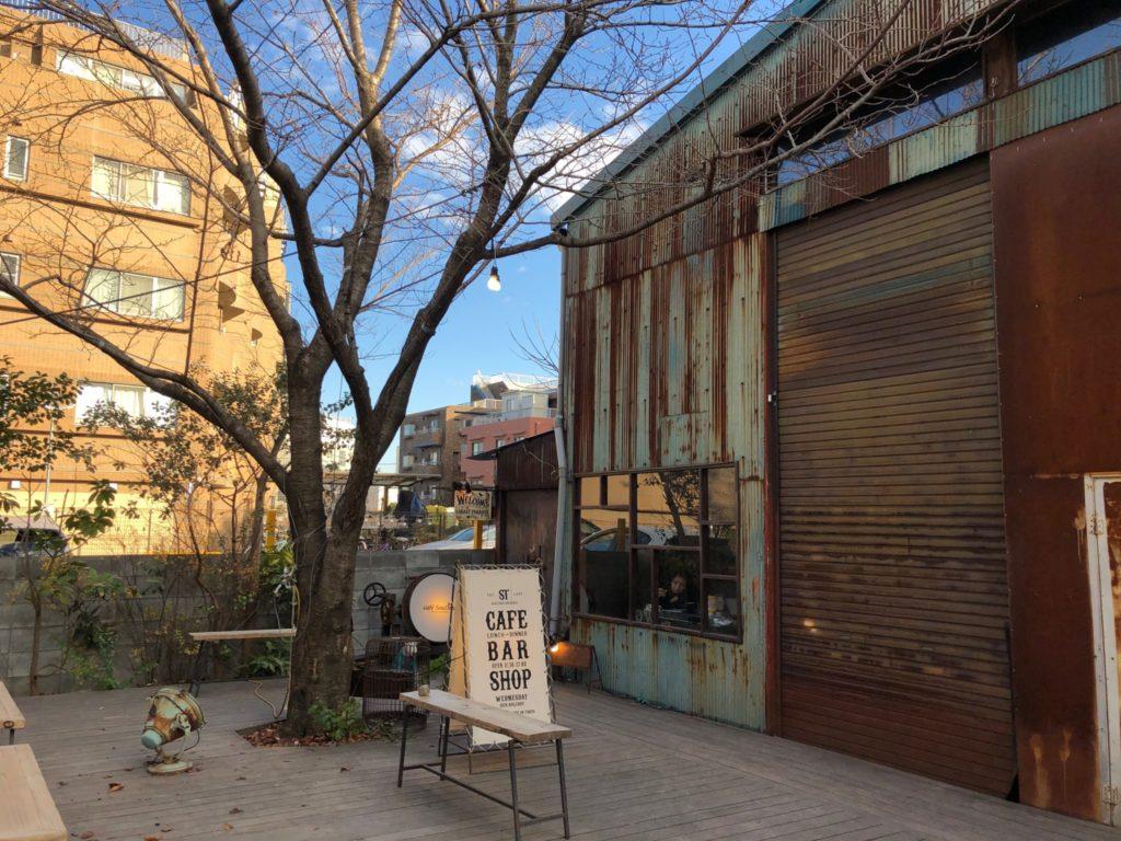 ソウルツリー(Cafe Soul Tree)二子玉川の外観