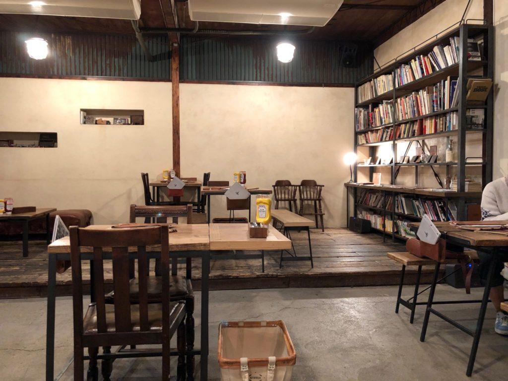 ソウルツリー(Cafe Soul Tree)二子玉川の店内の様子