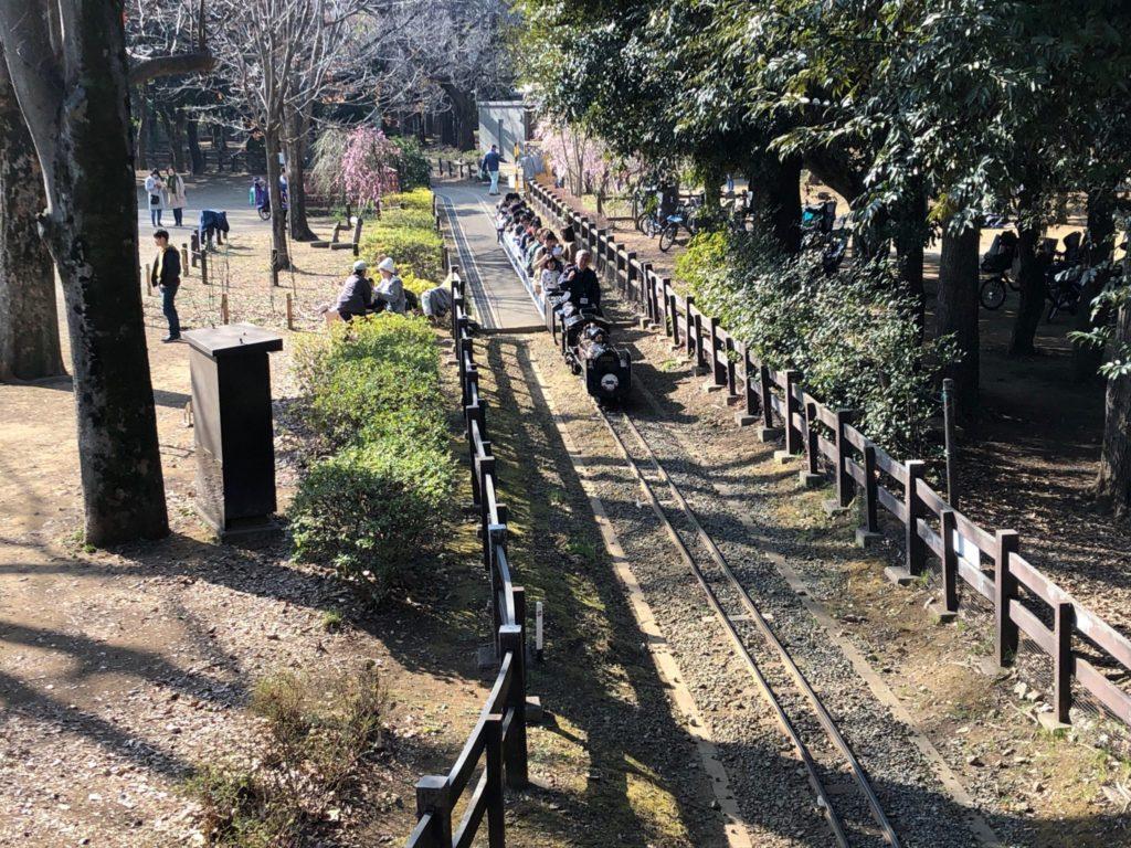 世田谷公園のミニSL