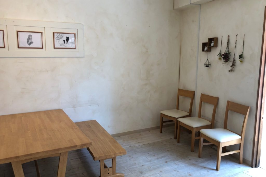 OWL TEA(オウルティー) 武蔵小杉店のテーブル席