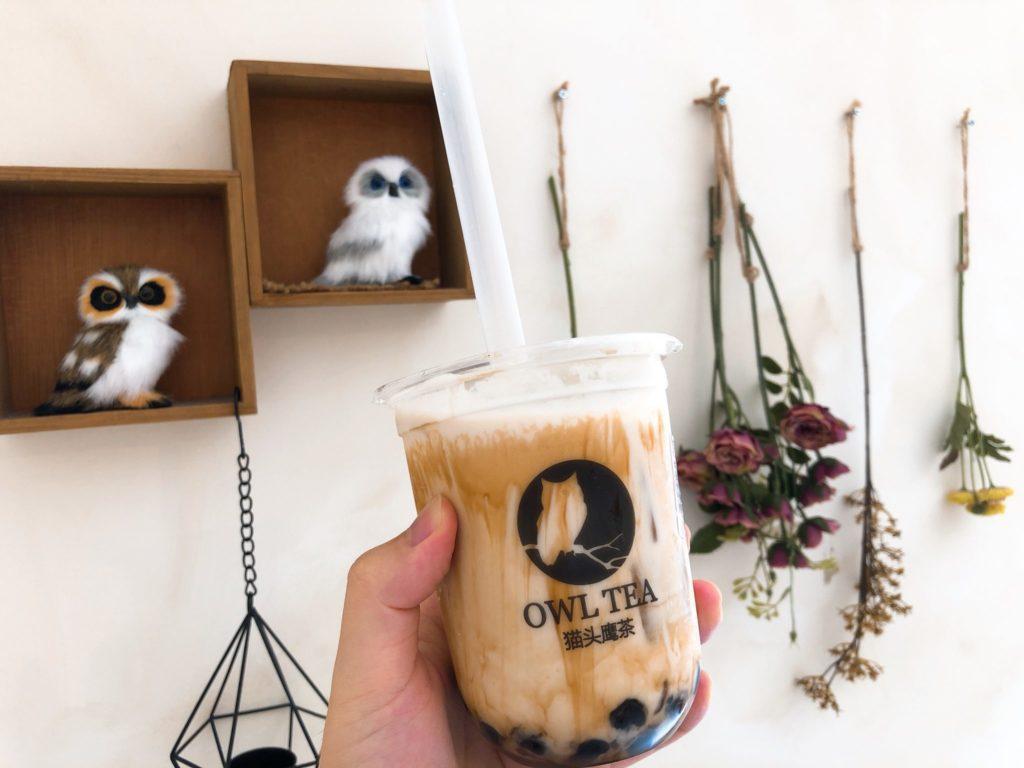 OWL TEA(オウルティー) 武蔵小杉店のザンザン黒糖ミルク