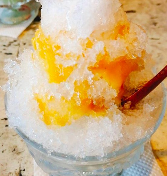 【氷工房 石ばし 三軒茶屋】レトロなかき氷屋!安納芋ソースが美味しい
