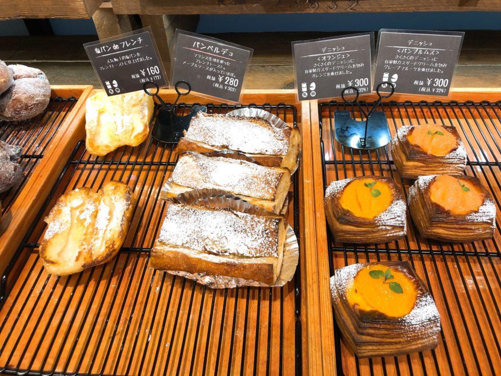 ベーカリーズキッチン オハナ二子玉川店の菓子パンほか