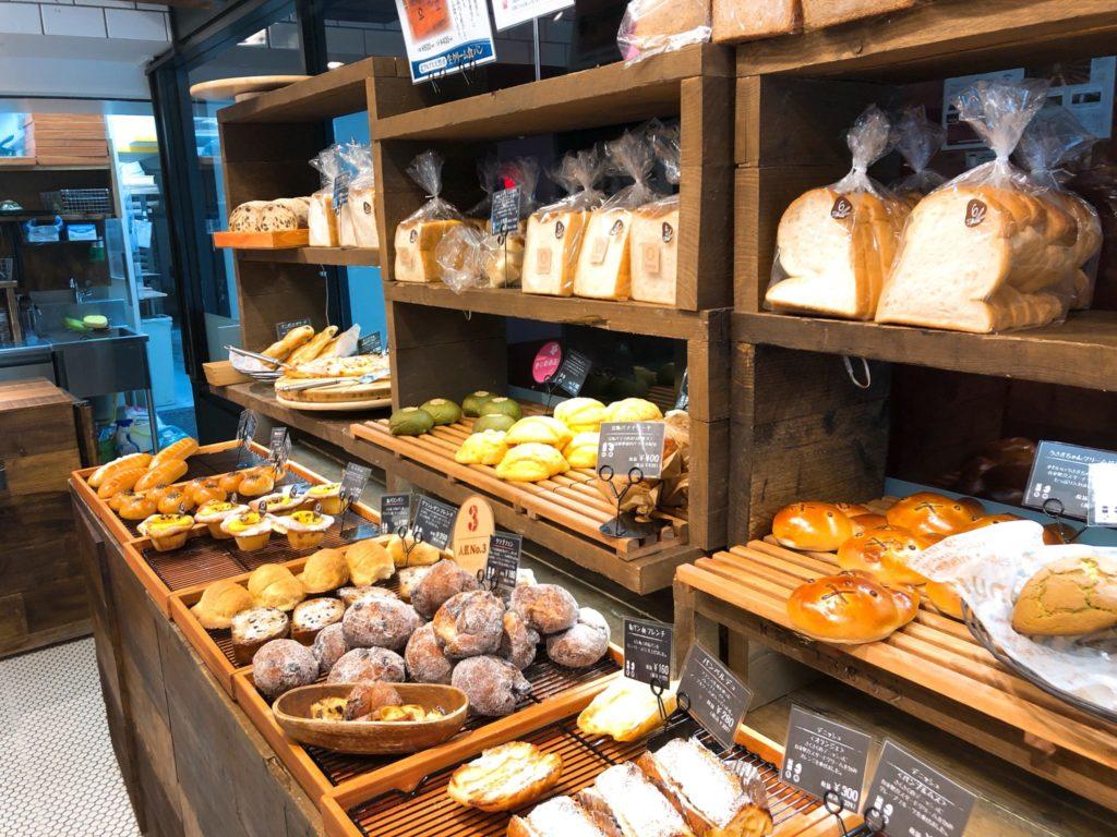 ベーカリーズキッチン オハナ二子玉川店のパン