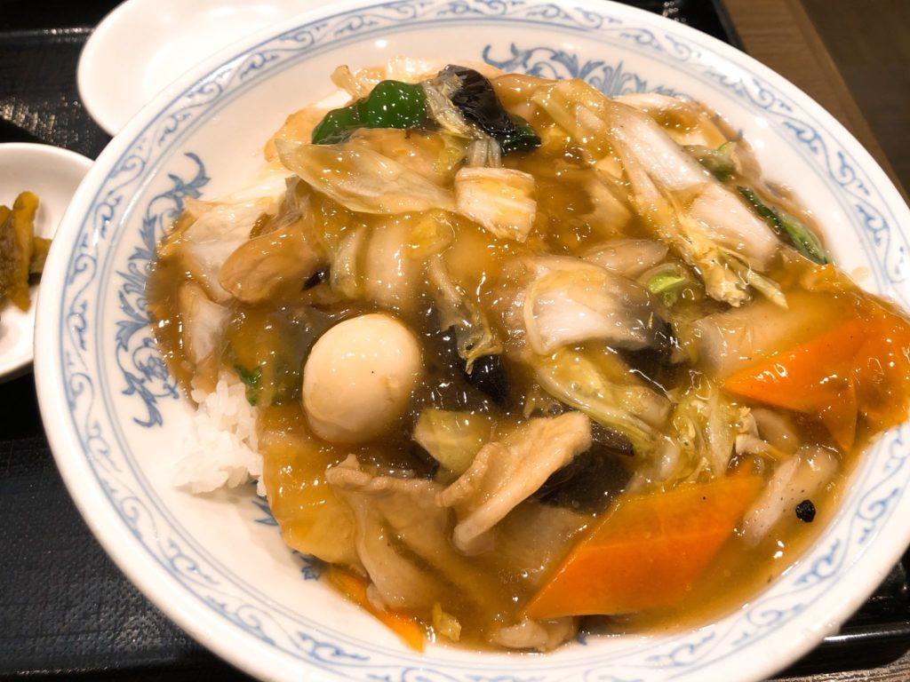 北海(ほっかい) 尾山台のランチ中華丼