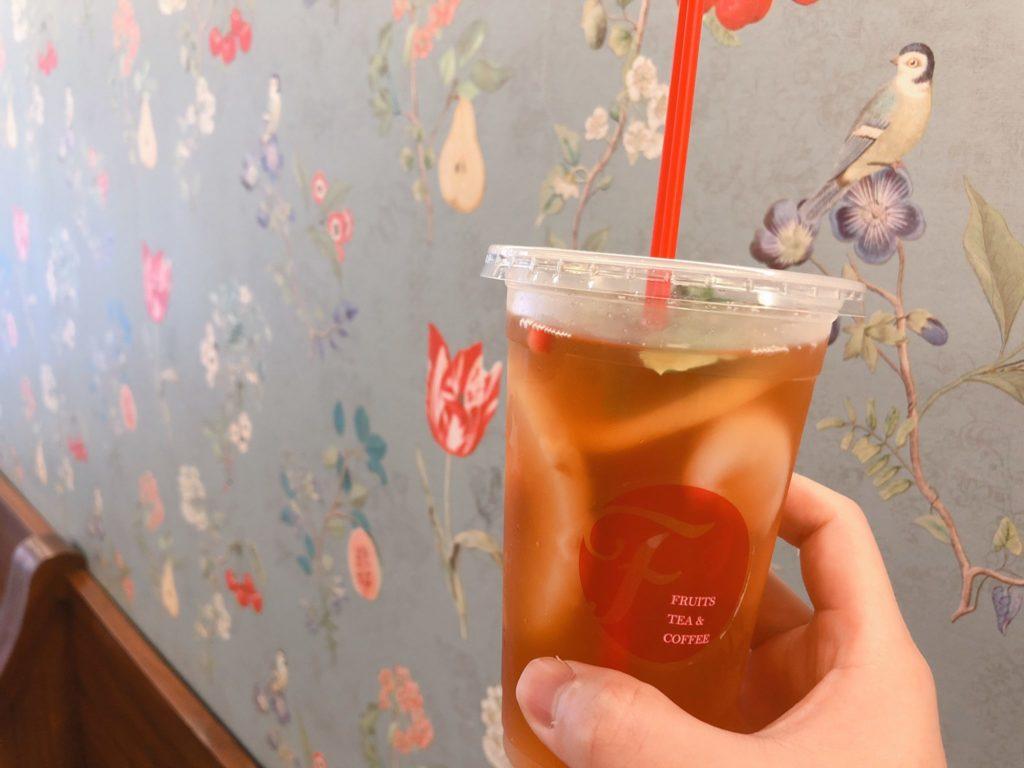 フルーツティー&コーヒーFのトロピカルフルーツティー
