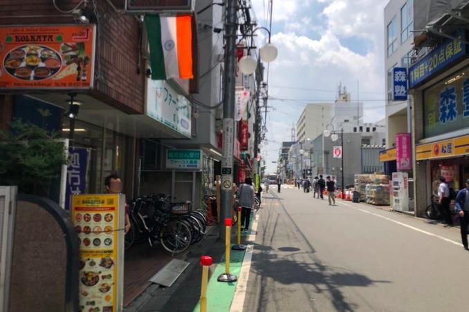 コルカタ成城店は成城学園前南口のオリンピック隣