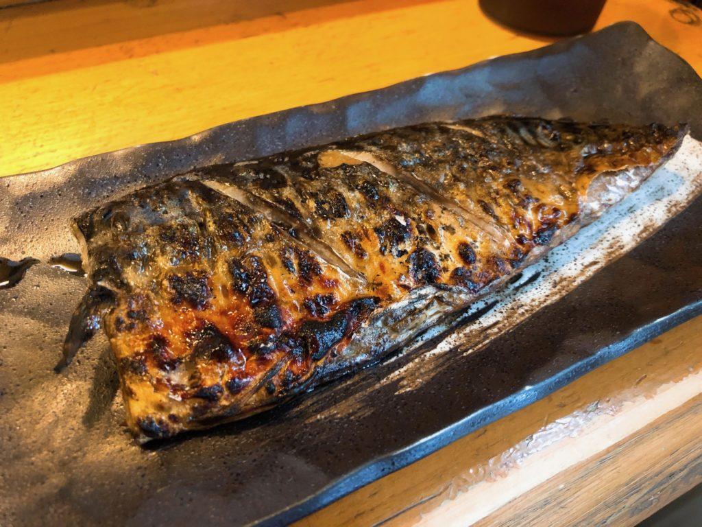 吉良(きら)松陰神社前のサバいしる定食