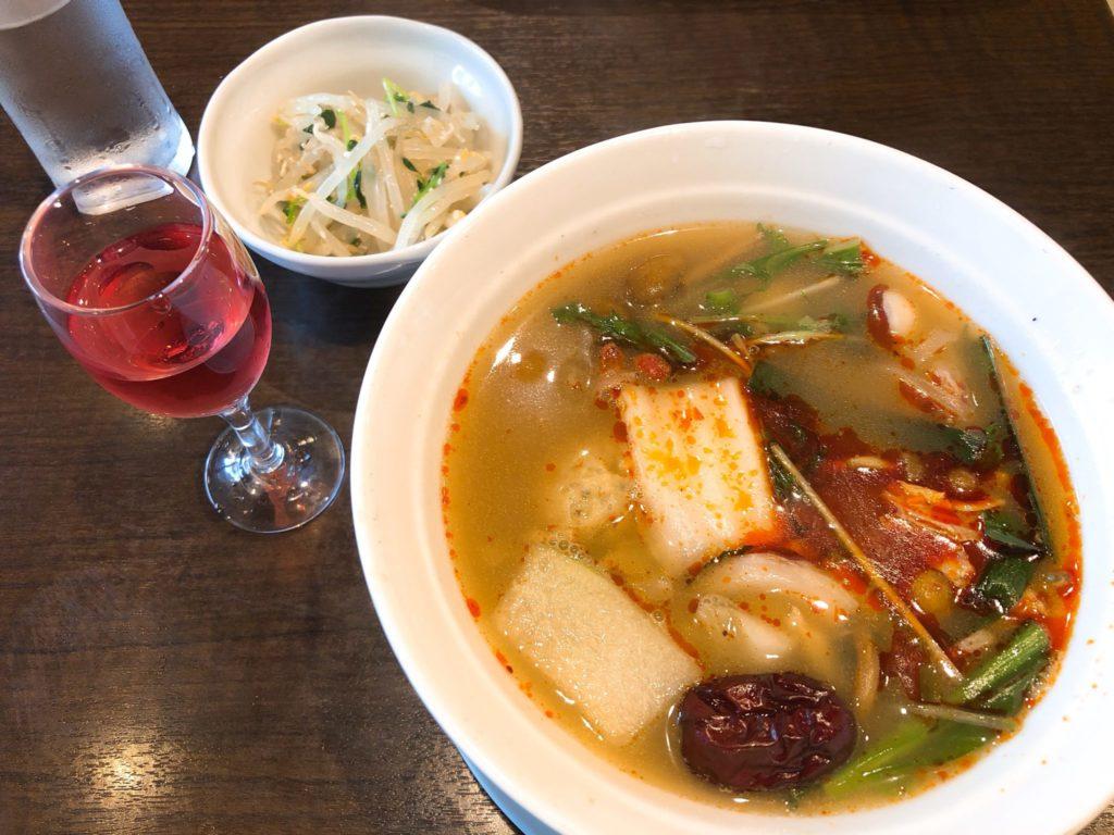 ZEN ROOM(ゼンルーム) のランチ 健彩麺