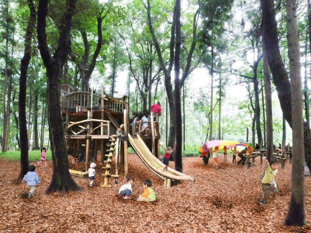 南町田グランベリーパーク に隣接する鶴間公園