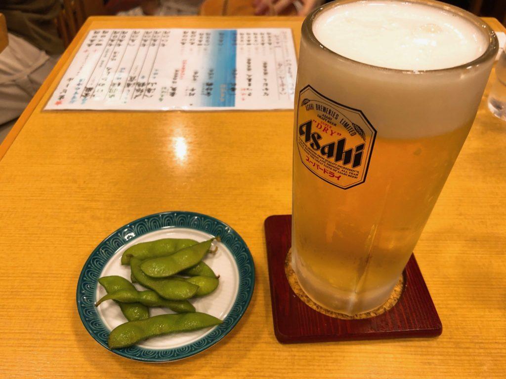 丸屋 喜多見の生ビール