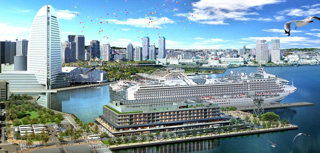 横浜ハンマーヘッドの完成イメージ図