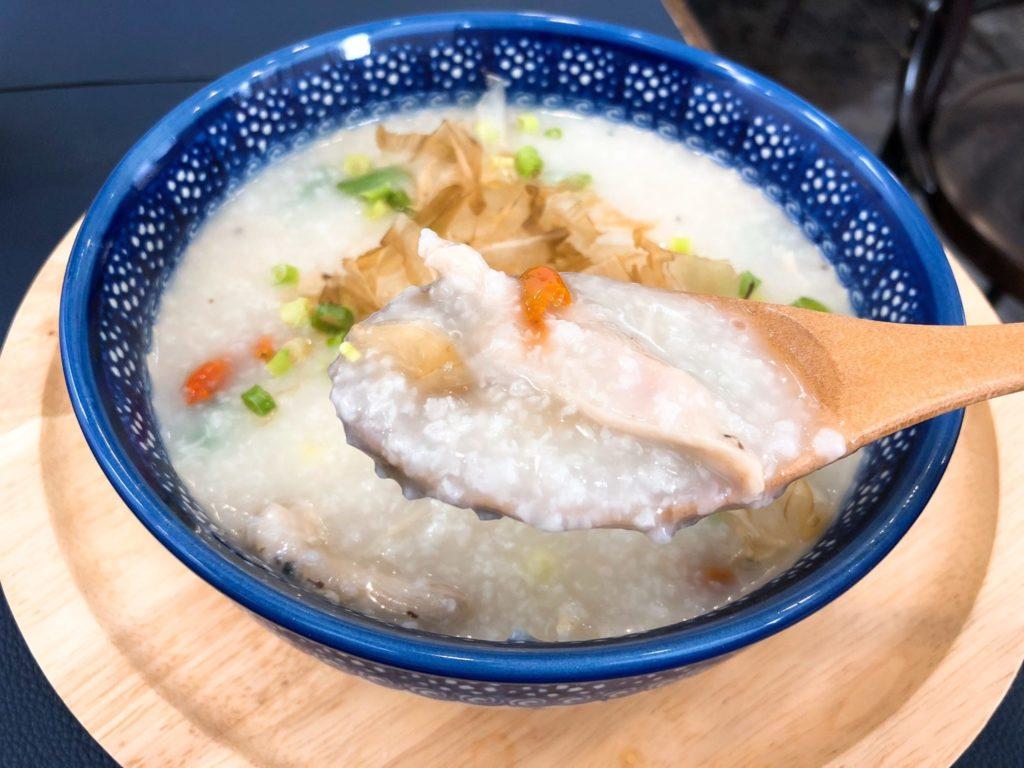 3米3(サンマイサン)下北沢店の香港粥