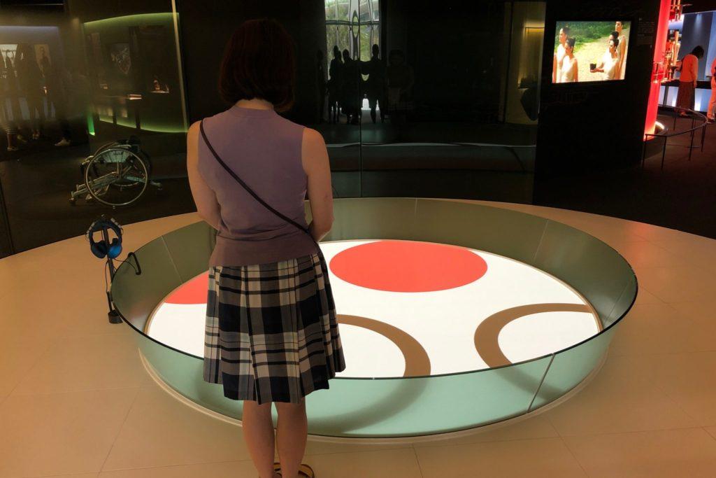 日本オリンピックミュージアムのイントロダクション
