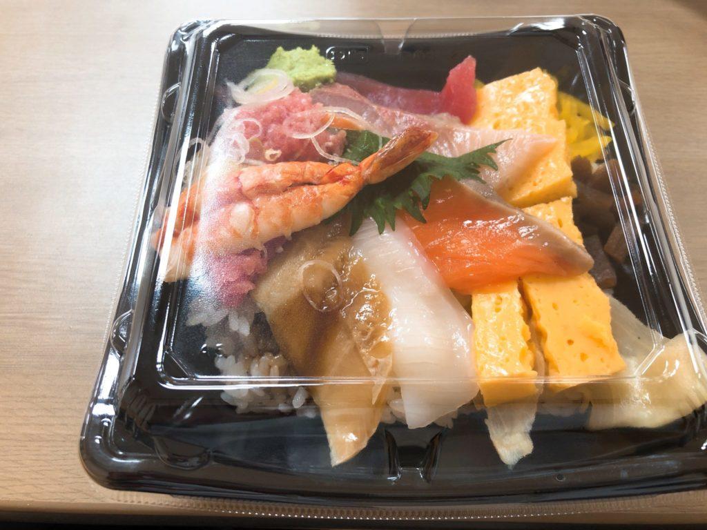 すし台所家 三軒茶屋店のランチ限定海鮮丼