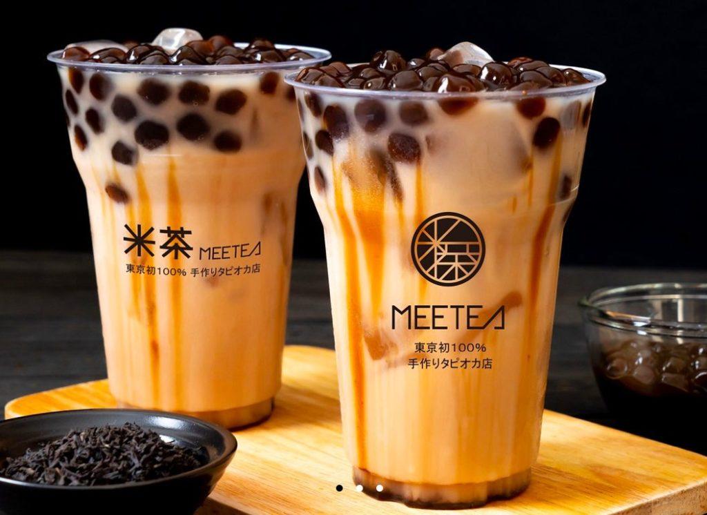 MEETEA(ミーティ) 国立店のタピオカミルクティー