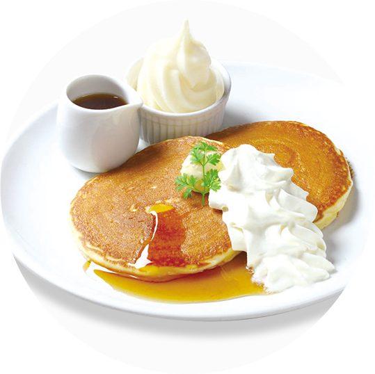 バター自由が丘店 バターミルクパンケーキ