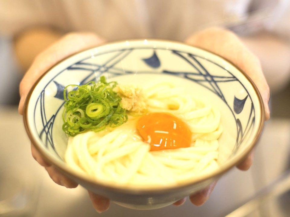 丸亀製麺 JR亀有駅店 オープニングスタッフ まかない イメージ