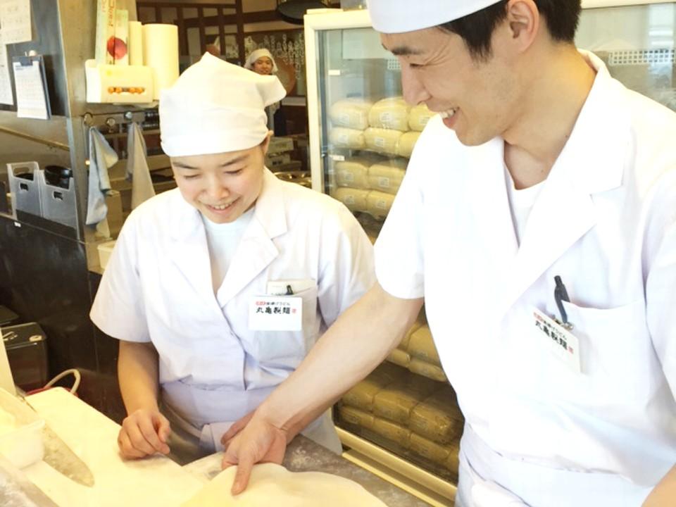 丸亀製麺 JR亀有駅店 オープニングスタッフ イメージ