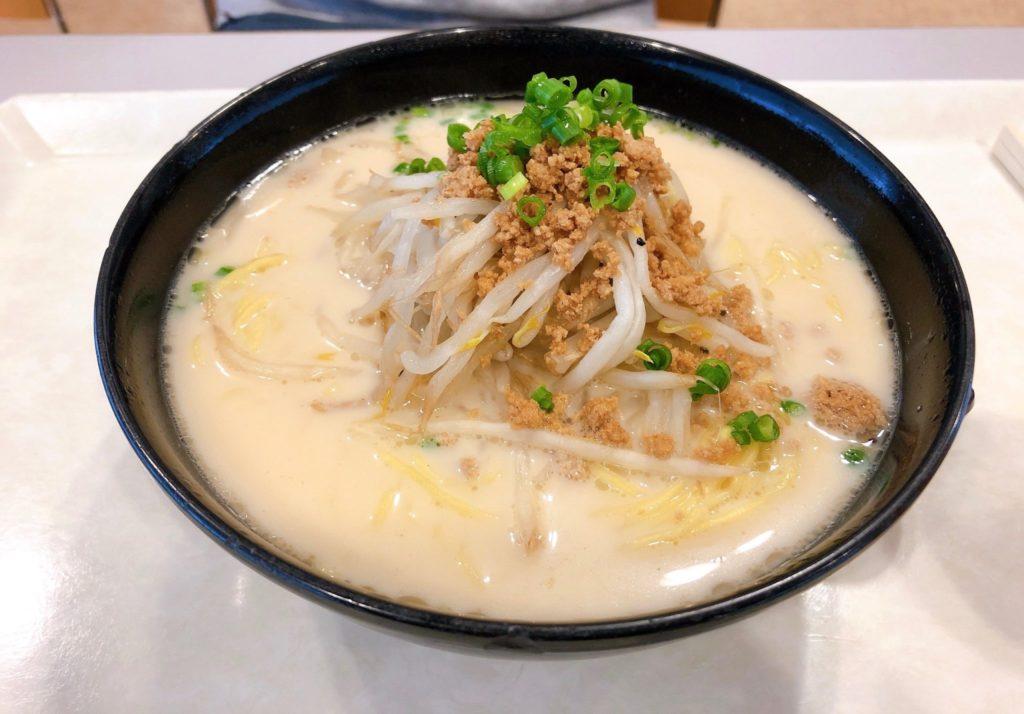 日本体育大学学食のラーメン