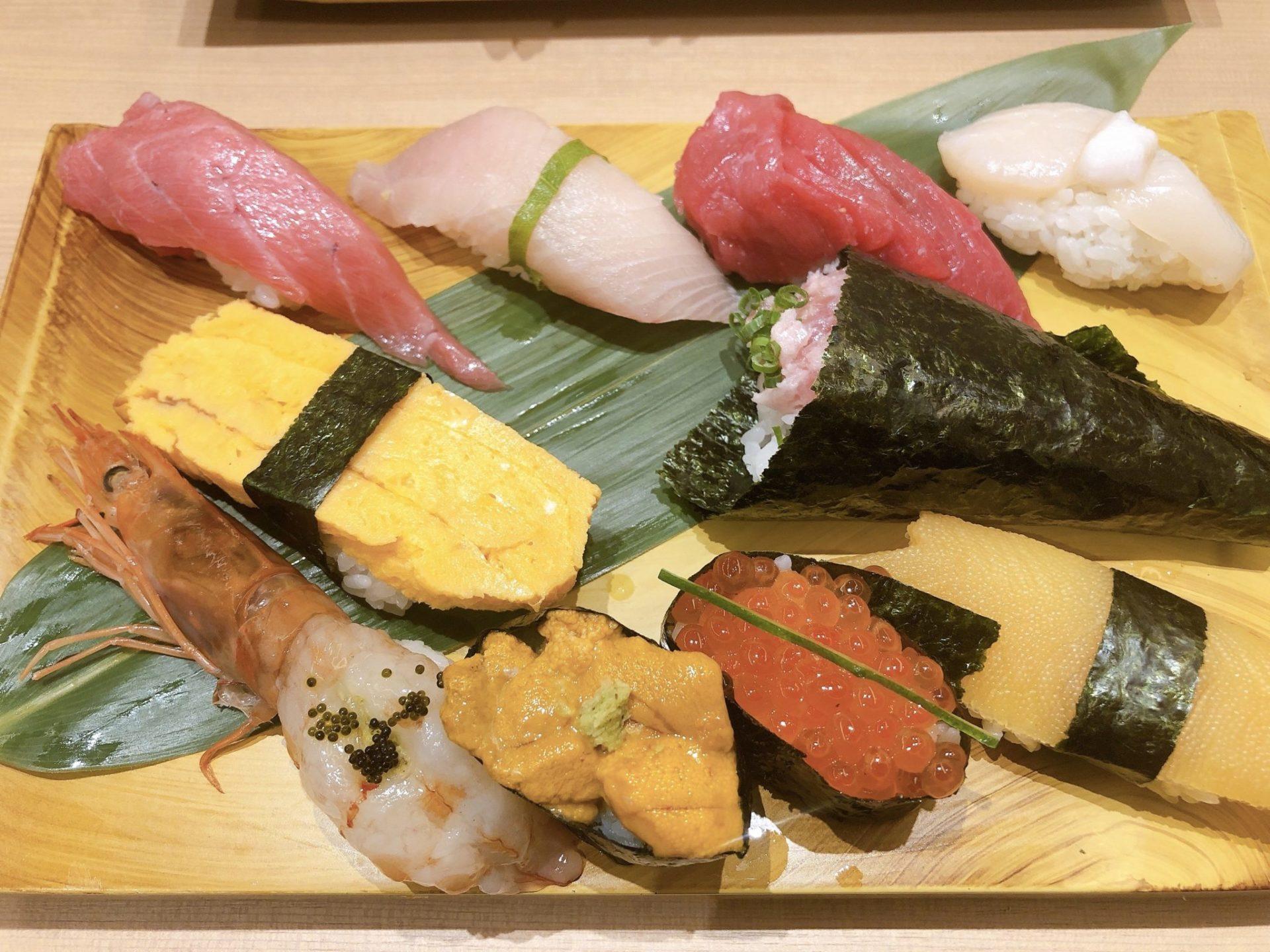梅ヶ丘の美登利寿司の「特上ランチ」