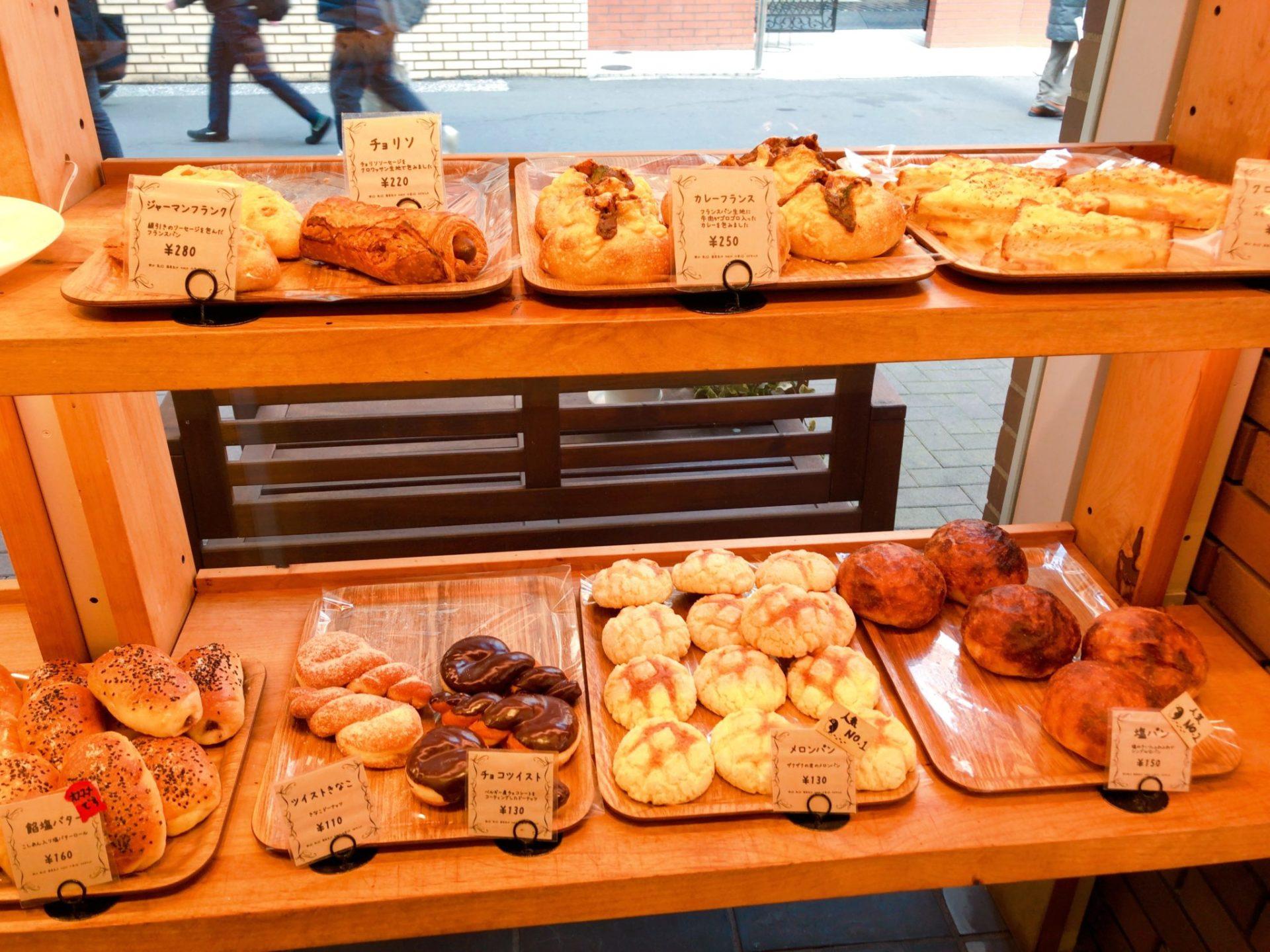 ぱんやのパングワンの菓子パン