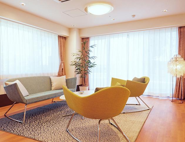 リアンレーヴ二子玉川 住宅型有料老人ホーム エントランスホール