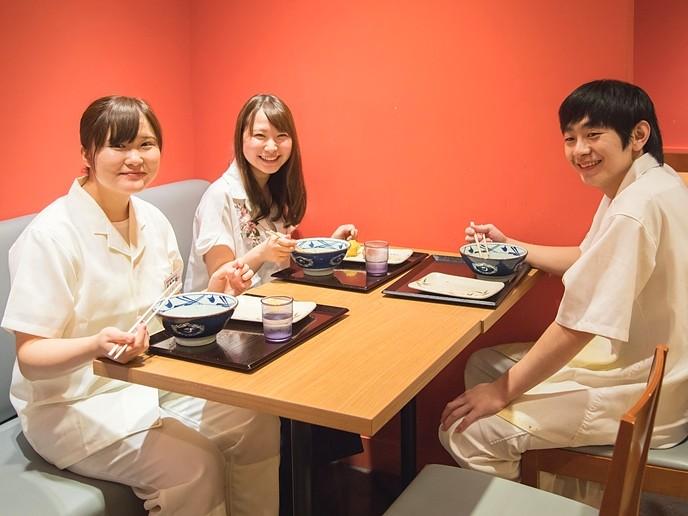 丸亀製麺 千歳船橋店のバイト・求人情報 賄いイメージ