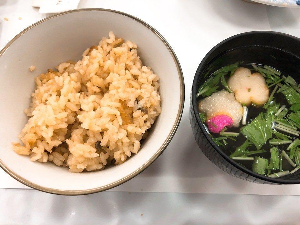 大島温泉ホテルの夕食