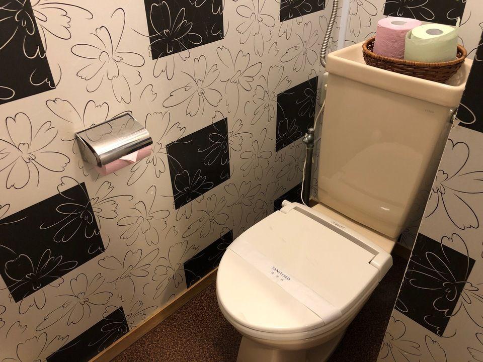 大島温泉ホテルのトイレ