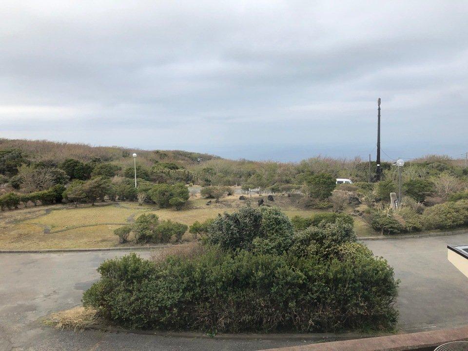 大島温泉ホテルの眺め