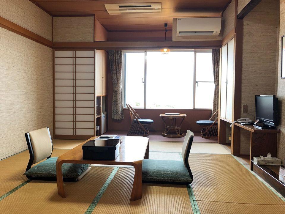 大島温泉ホテルの部屋(和室)