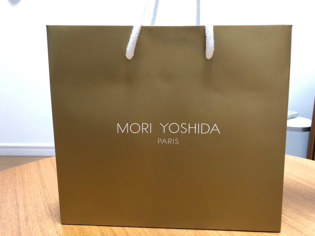 モリヨシダのモンブランの紙袋