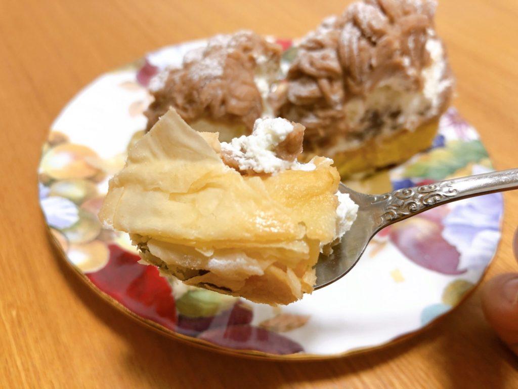 モリヨシダ「MORI YOSHIDA」のモンブランのパイはさっくり