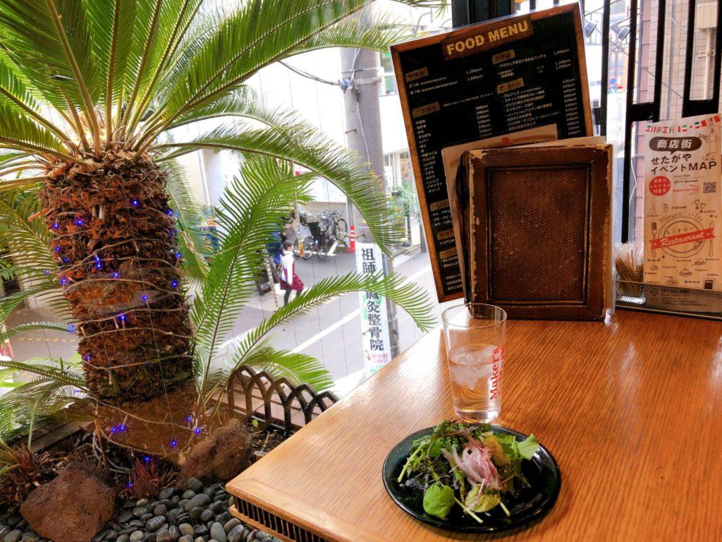 JATI Seijyo(ジャティー成城)のテーブル席