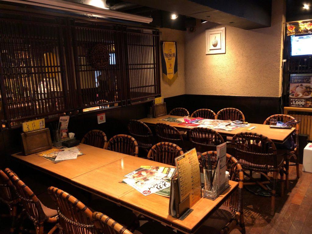 JATI Seijyo(ジャティ成城)の店内の様子
