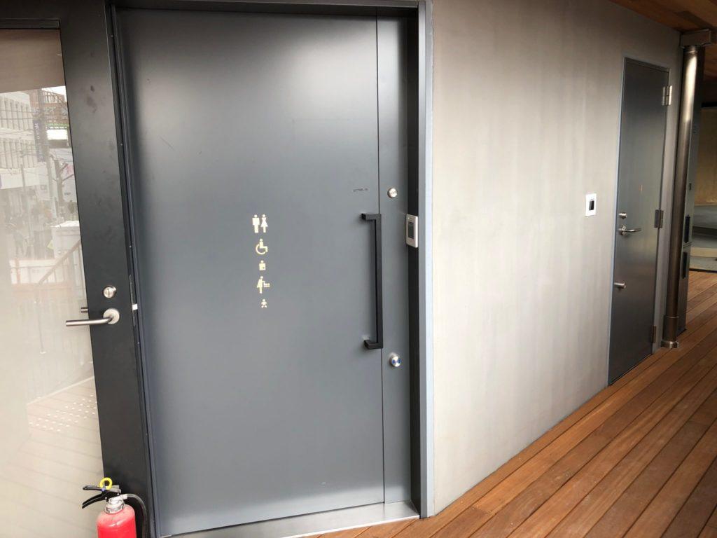 シモキタフロント下北沢のトイレ
