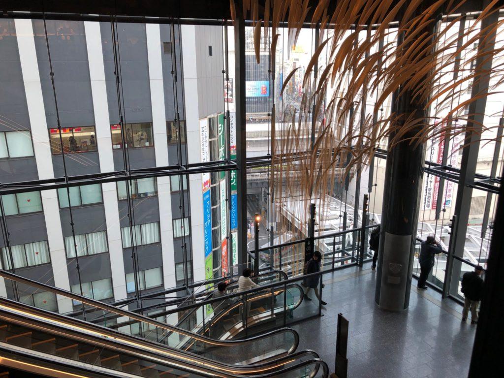 花椒庭(かしょうてい) 東急プラザ渋谷店からの眺め