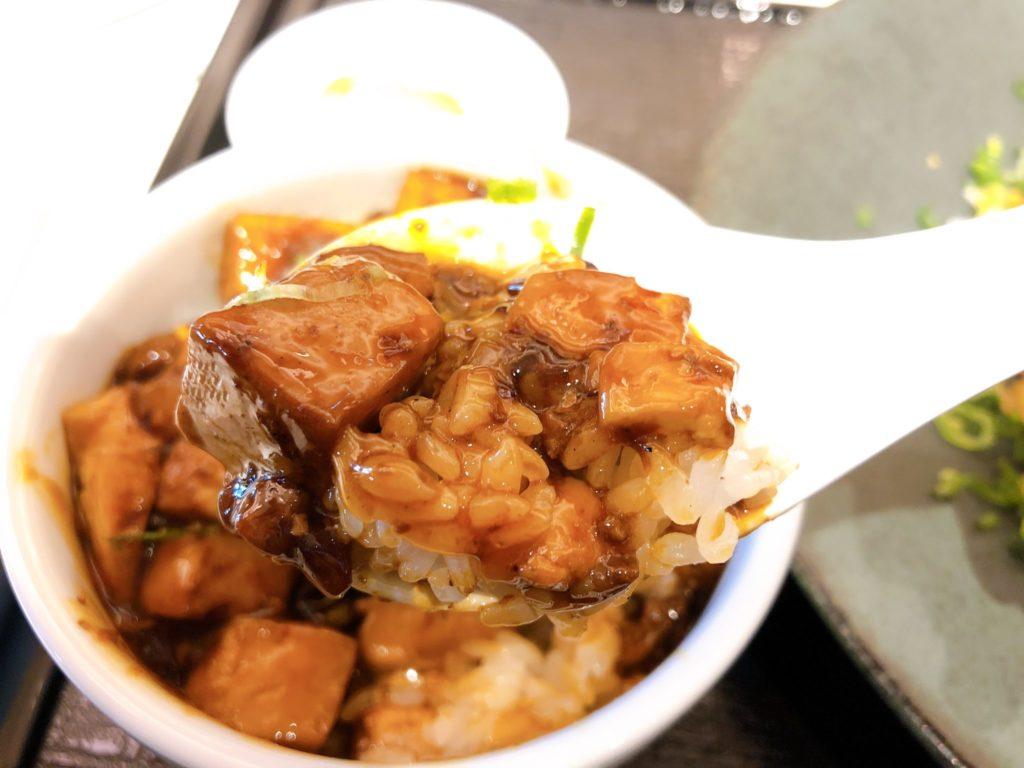 花椒庭(かしょうてい) 東急プラザ渋谷店の麻婆豆腐丼